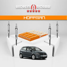 KIT 4 CANDELETTE VW GOLF PLUS 1.6 TDI 66KW 90CV 2012 -> GE115