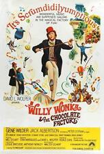 Willy Wonka & the Chocolate Factory Movie POSTER 27 x 40 Gene Wilder AA LICENSED
