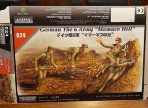 Tristar Model 1/35 German 6 Army Mamaev Hill figures x 3 - 35024