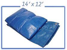 Tool-Tech Multi Purpose 14 X 12 Foot Polyethylene Woven Tarpaulin