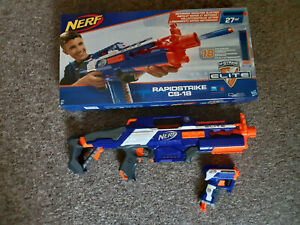 Nerf - N-Strike Elite Rapidstrike CS-18 + OVP + Triad gratis