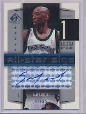 SAM CASSELL 2004 SP GAME USED ALL STAR SIGS AUTO 03/25