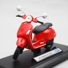 Welly 1:18 Vespa 2017 GTS 125CC MOTORCYCLE BIKE DIECAST MODEL TOY NEW IN BOX