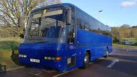 Dennis Javelin Neoplan Transliner Automatic 49 Seater Coach Bus LEZ Compliant