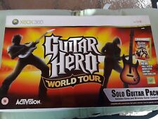 Pack Guitar Hero World Tour con Juego y Guitarra Electrica para X-Box-360
