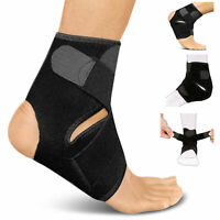 Medical Ankle Support Strap Compression Wrap Bandage Brace Guard Sports Foot US