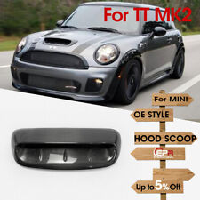 Carbon Fiber For Mini Cooper S R56 2007~2014 Type A Hood Scoop Exterior Add on