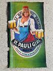 St. Pauli Girl 1983 Germany Pinup Girl Vintage Beer Advertising Poster - Huge
