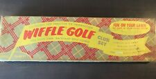 Vintage 1950's Wiffle Golf Club Set NOS -  Complete MINT Condition