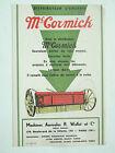 Prospectus Tracteur Mac CORMICK IH Semoir en ligne 1930 brochure catalogue