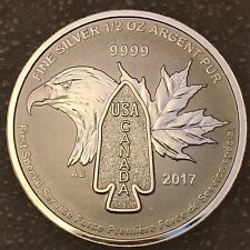 2017 1/2 oz Silver $2 Coin BRIGADE FIRST SPECIAL SERVICE FORCE USA & CANADA