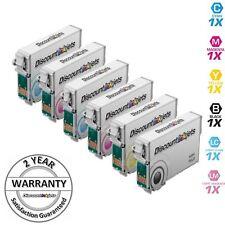 6PK Ink Cartridges for Epson T078 Artisan 50 T0781 T0782 T0783 T0784 T0785 T0786