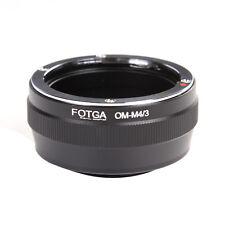 Olympus OM obiettivo A Micro 4/3 m4/3 Adattatore per G7 GH4 GF7 E-PL6 E-PL7