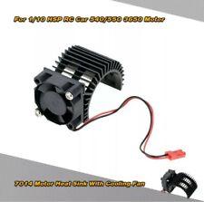 7014 Motor Heat Sink W/Cooling Fan for 1/10 HSP RC Car 540/550 3650 Motor K3Q2