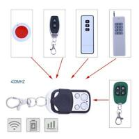 4 Channel Wireless Remote Control Duplicator Electric Gate Garage Door Key Fob