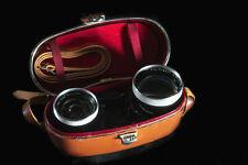 Kit objectif Carl Zeiss pro-Tessar 35mm f/3,2 et 85mm f/4