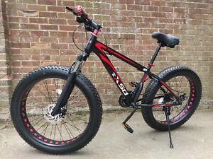 "FAT BIKE 26"" hybrid mountain bike, beach, sand, snow tyre, Cruiser fat tire tyre"