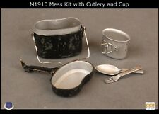 WWI German Infantryman Battle of Liege M1910 Cup and Cutlery 1/6th Scale