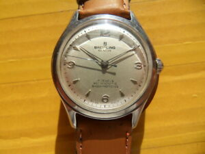 Vintage SWISS BREITLING 17 Jewels Manual Men's Watch,1954's