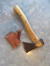 VINTAGE NORLUND HUDSON BAY AXE HATCHET WITH COVER VOYAGEUR