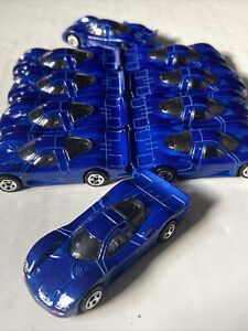 Lot Of 10 Hot Wheels Blue Nissan R390 GT1 Awesome Lot L👓K