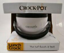 Crock Pot Lunch Crock Warmer for Soups, Dips, Stews - BLACK - #R-01-02