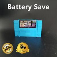 Super 49 in 1 Best Games Cartridge 16 Bit Multicart NEW NTSC SNES Super Nintendo