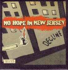 """NO HOPE IN NEW JERSEY - DECLINE - NUMBERED 7"""" VINYL SINGLE - MINT"""