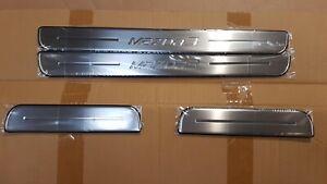 Original MAZDA3 '13-'18 Einstiegsleistensatz 4-teilig Edelstahl BHR1V1370