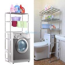 3 Shelf Over Toilet Bathroom Storage Organizer Cabinet Space Saver Towel  Rack