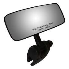 "CIPA Concept II 4"" x 11"" Black Universal Boat Mirror w/ Mounting Bracket"