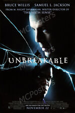 Posters Usa - Unbreakable Bruce Willis Movie Poster Glossy Finish - Mcp925