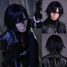 New Shiki Togainu no Chi True Blood Short Anime Cosplay Party Full wig