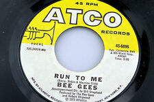 Bee Gees: Road to Alaska / Run to Me   [Unplayed Copy]