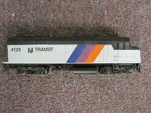 HO Walthers EMD F40 NJ Transit Diesel Engine