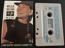 Me & Paul ~ WILLIE NELSON Cassette Tape