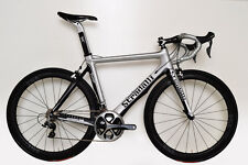STRADALLI CARBON FIBER AERO ROAD BIKE DURA ACE 9000 11 SPEED 48CM S SILVER BB30