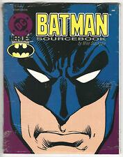 DC Heroes BATMAN Sourcebook - Mayfair Games 1989 - Factory Sealed - NOS