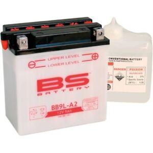 Motorrad BS Batterie YB9L-A2 für Derbi Boulevard 125 Boulevard 150