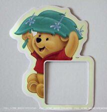 Glow in the Dark Winnie The Pooh Light Switch Sticker