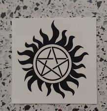 SUPERNATURAL  PENTAGRAM TEMPORARY TATTOO