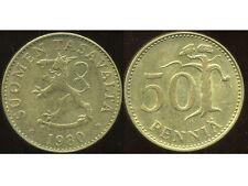 FINLANDE 50 pennia 1980