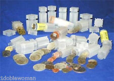 9  Square Coin Tubes  You Choose the Sizes     Mix or Match