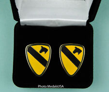 1st Cavalry Division Army Cuff Links in Presentation Gift Box cufflinks