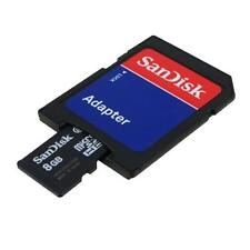 SANDISK 8GB 8G B Micro SD SDHC TF Memory Card With SD Adapter