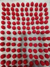 100 Tiny Unscented Raspberries Soap Embeds For Cold Processed Soaps & Other Soap