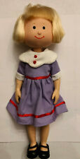 """Madeline and Friends Nicole 8"""" Doll with Lavender Dress Eden"""