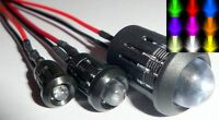 3/5/10mm Ultra Bright Pre-wired Constant/Flashing 12v LEDs Prominent Holders