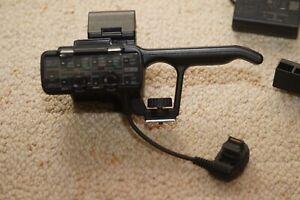 SONY DSLR A7s Bits and pieces BC TRW, AC UB10AC, UUE12 - XLR adaptor