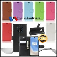 Coque Etui Housse Litchi Cuir PU Leather Stand Wallet Case Cover OnePlus 7T